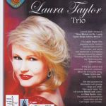 Laura Taylor Trio live performance.