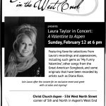 Music in the West End Featuring Laura Taylor